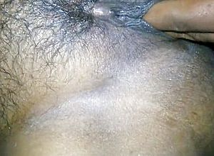 Fingering,hairy,indian